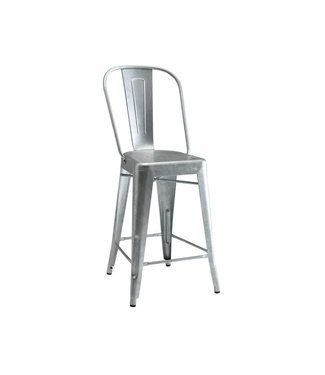 COASTER 104887 COUNTER CHAIR LAHNER METAL