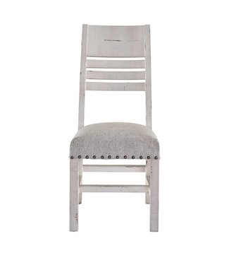 ELEMENTS MDCD700WSC SIDE CHAIR UPHOLSTERED CONDESA WHITE