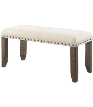 ELEMENTS DJX100BN BENCH JAX UPHOLSTERED