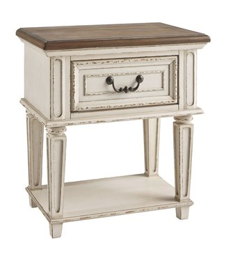 ASHLEY B743-91  NIGHTSTAND 1-DRAWER REALYN