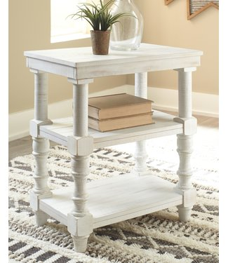 ASHLEY A4000276 ACCENT TABLE DANNERVILLE WHITE