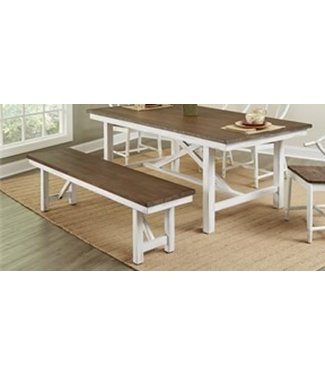 LARGO D259-49 BENCH SAGECREST ALDER/WHITE