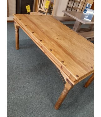 GONZALEZ MES-18 TABLE INDIAN RUSTIC PINE