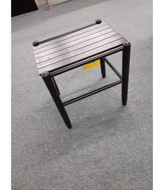 DIXIE SEATING 1618QS BLACK SIDE TABLE FRANKLIN BLACK