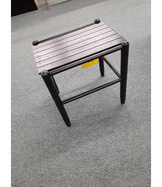 DIXIE SEATING BLACK SIDE TABLE FRANKLIN BLACK