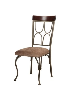 POWELL 474-434 DINING CHAIR LANGLEY METAL