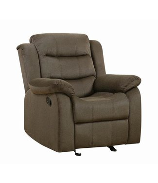 COASTER 601883 GLIDER RECLINER RODMAN CHOCOLATE