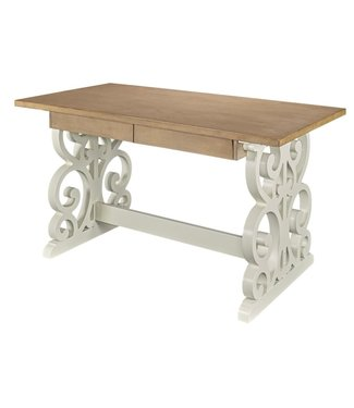 POWELL 16A8203RD DESK MCKINLEY TWO TONE