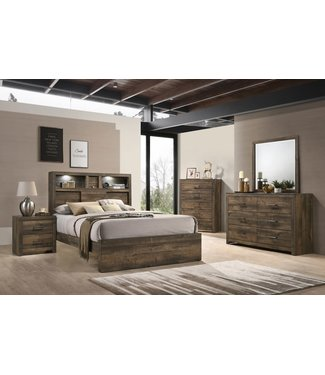 ELEMENTS BY500NS NIGHTSTAND BAILEY DRIFT FINISH