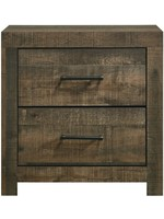 ELEMENTS BAILEY NIGHTSTAND DRIFT FINISH
