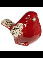 GANZ BIRD SCROLL RED
