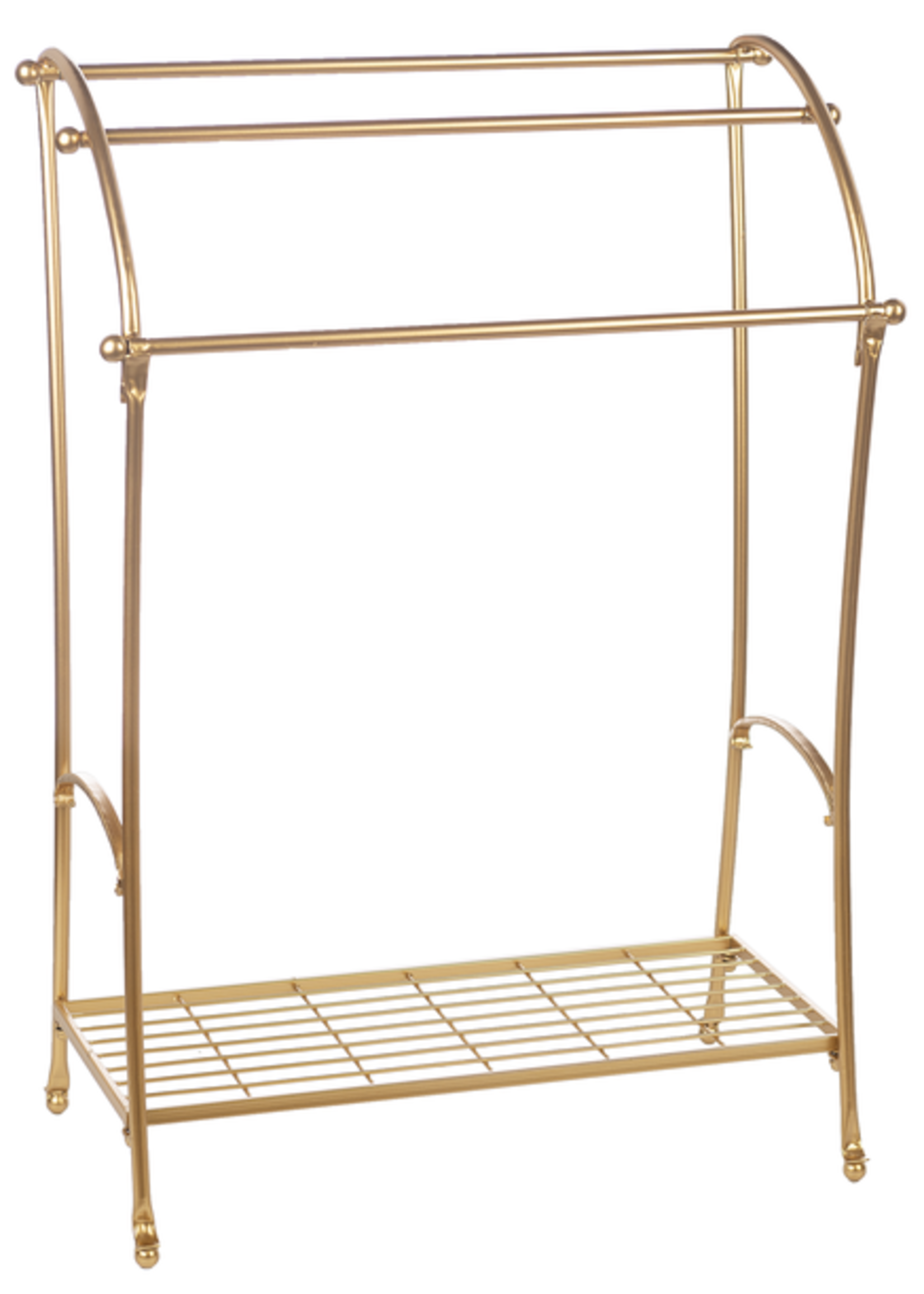 GIFTCRAFT GOLD BLANKET DISPLAYER IRON