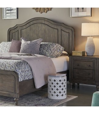 LEGENDS QUEEN PANEL BED MIDDLETON