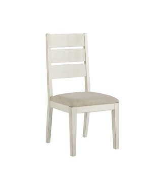 ASHLEY D754-01 SIDE CHAIR GRINDELBURG WHITE