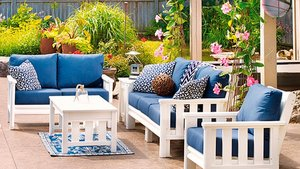 Patio furniture made to last