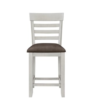 STANDARD KIRKLAND UPHOLSTERED SIDE CHAIR COUNTER HEIGHT