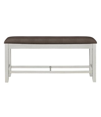 STANDARD KIRKLAND COUNTER HEIGHT UPHOLSTERED BENCH