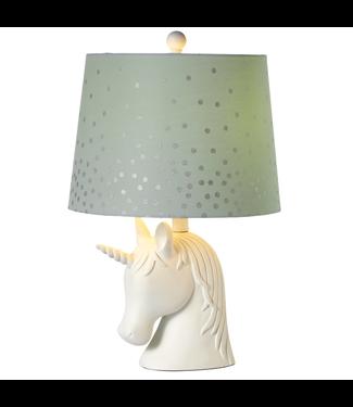 GANZ 158937 ACCENT UNICORN TABLE LAMP