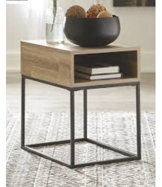 ASHLEY T150-3 END TABLE RECT. GERDANET NATURAL