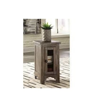 ASHLEY T446-7 CHAIR SIDE END TABLE DANELL RIDGE BROWN