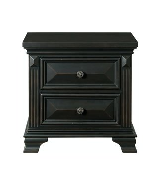 ELEMENTS CALLOWAY NIGHTSTAND  BLACK