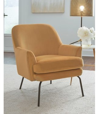 ASHLEY ACCENT CHAIR DERICKA GOLD