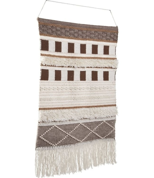 ASHLEY ADAH HANGING WALL DECOR IN BROWN/NATURAL