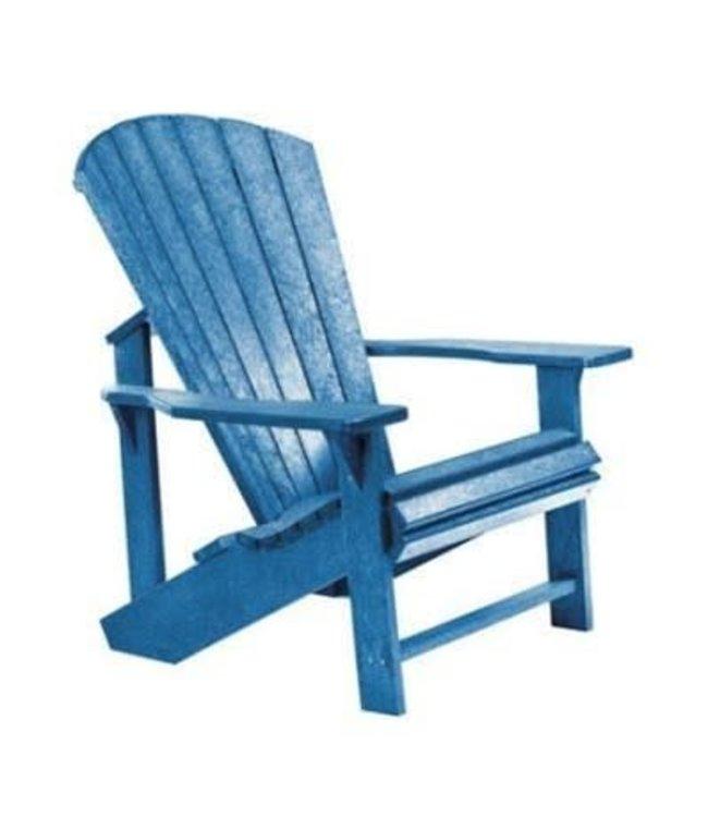 C.R. PLASTICS C01-03 ADIRONDACK CHAIR BLUE