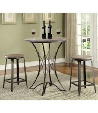 COASTER 3 PIECE COUNTER TABLE SET