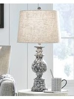 ASHLEY MACAWII TABLE LAMP IN ANTIQUE BROWN
