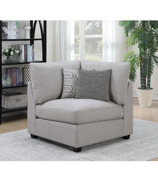 COASTER CAMBRIA CORNER CHAIR GREY