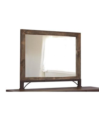IFD ANTIQUE MIRROR IN MULTICOLOR