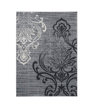 ASHLEY VERRILL AREA RUG GREY/BLACK 5x7