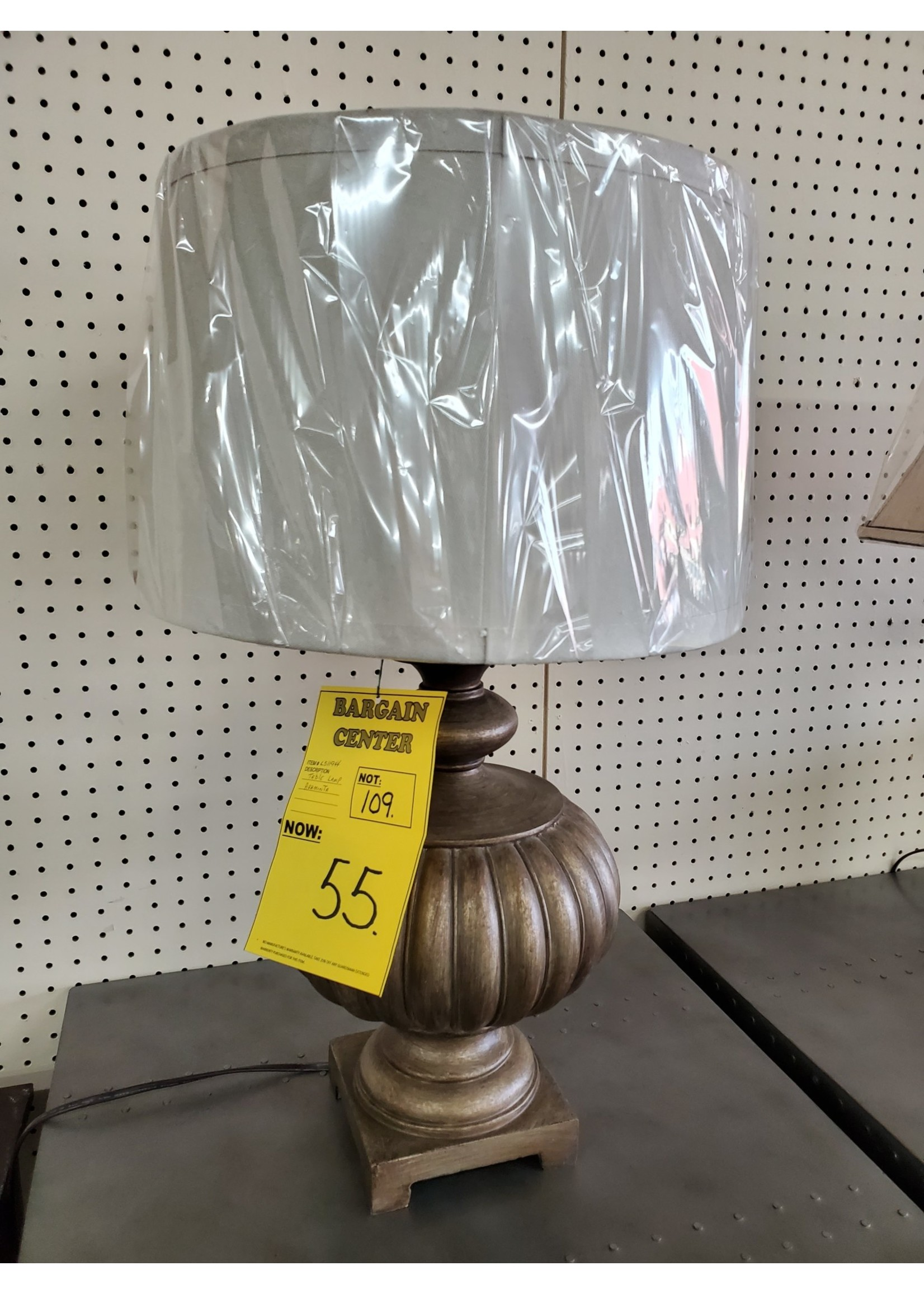 ASHLEY ARAMNITA TABLE LAMP POLY