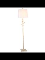 GANZ FLOOR LAMP BIRD ON BRANCH IVORY