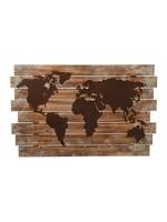 MIDWEST CBK WORLD MAP WALL DECOR