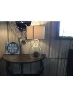 GANZ TABLE LAMP BUBBLE GLASS LARGE