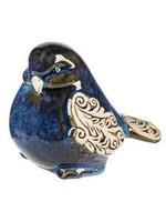GIFTCRAFT BIRD INDIGO SCROLL