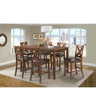 ELEMENTS ALEX 7 PIECE COUNTER HEIGHT DINING SET