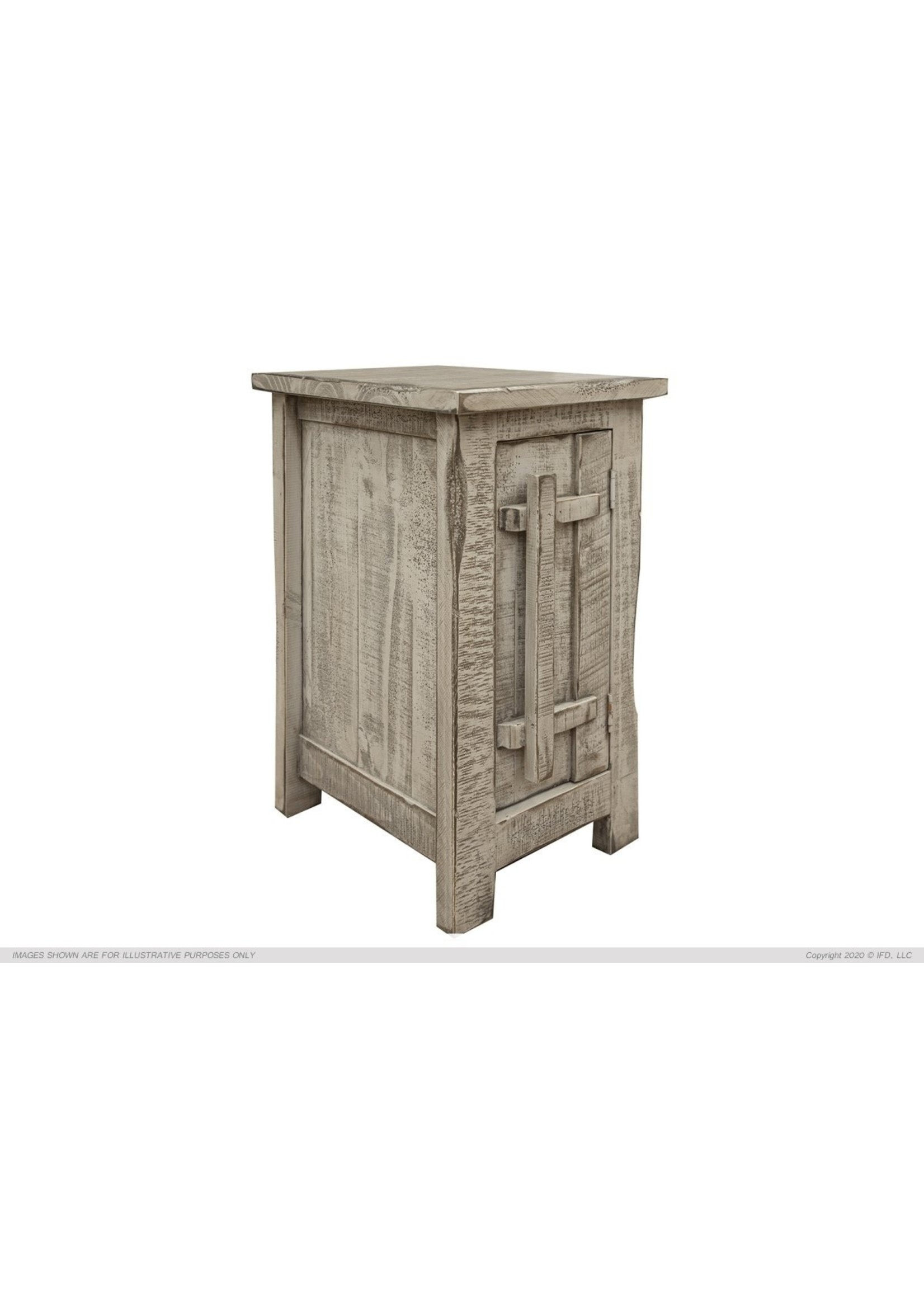 IFD 3551CST CHAIR SIDE TABLE SAN ANDRES GREY