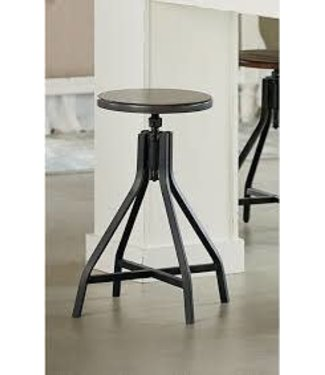 MAGNOLIA HOMES SWIVEL STOOL FRENCH GREY