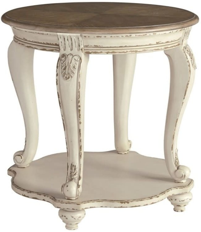 ASHLEY END TABLE REALYN ROUND