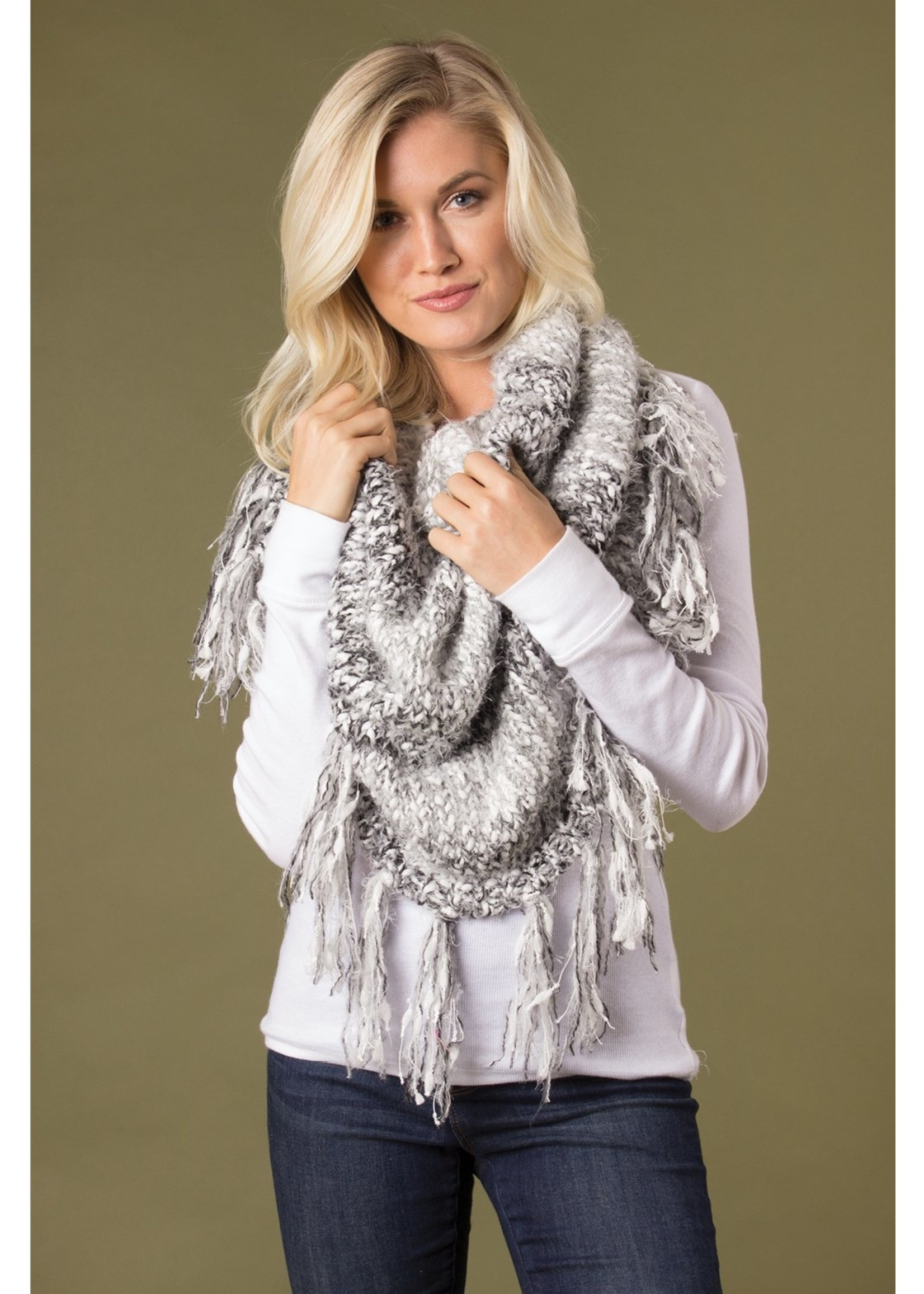SIMPLY NOELLE WRP-2005 CATCH MY DRIFT FRINGE WRAP ASSORTED COLORS