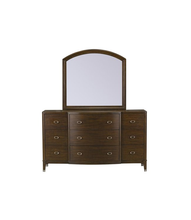 STANDARD SIMONE MIRROR IN BROWN