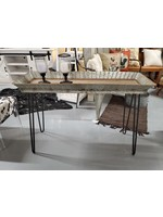 MIDWEST CBK RUSTIC METAL ACCENT TABLE