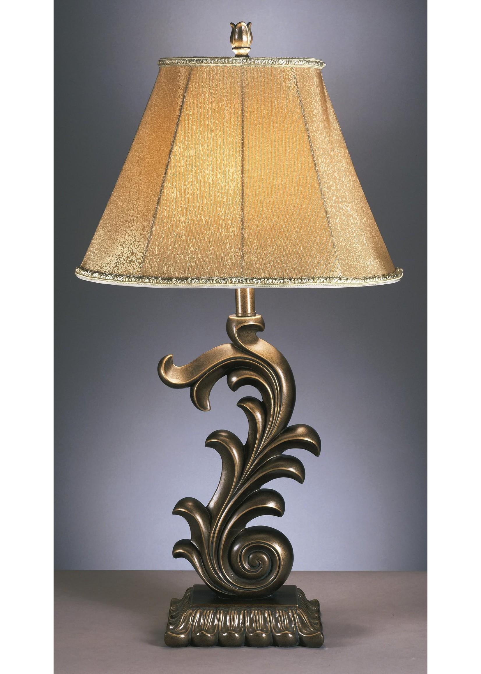ASHLEY ELIZA TABLE LAMP IN BRONZE