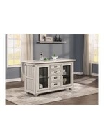 FLEXSTEEL HARMONY KITCHEN ISLAND