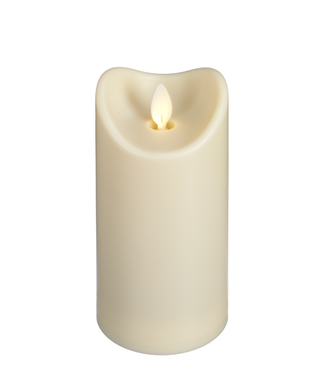 GANZ LED WATER RESISTANT PILLAR CANDLE