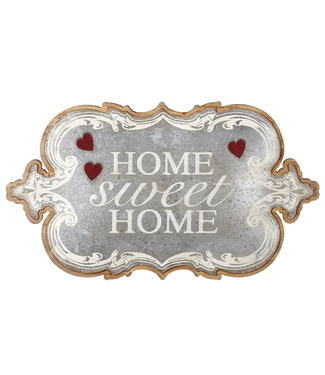 """GANZ WALL DECOR """"HOME SWEET HOME"""" MAGNETIC"""
