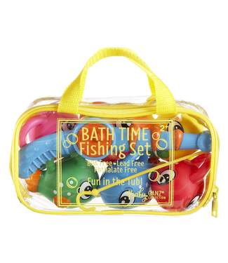 GANZ 7 PIECE BATH FISHING SET